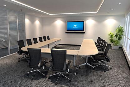 视频会议室环境优化效果图