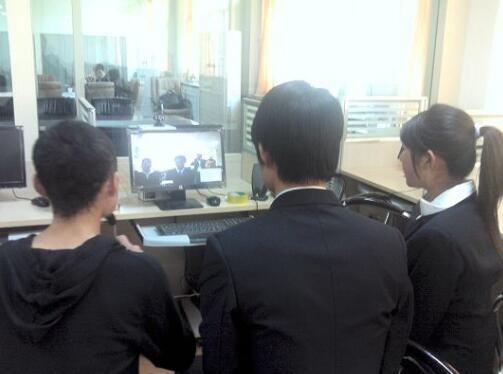 视频会议推动农民新型职业培训